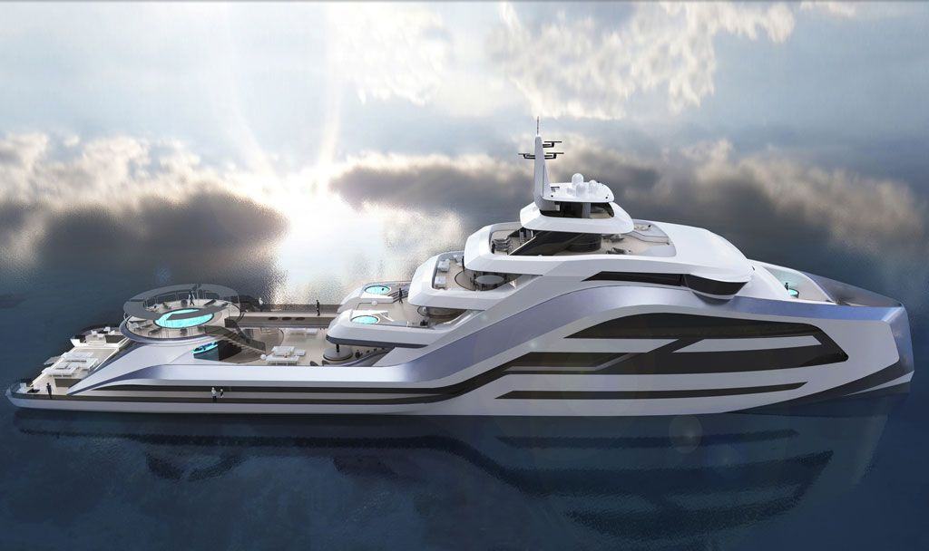 Superyacht Builders - Icon 95 Horizontal view.