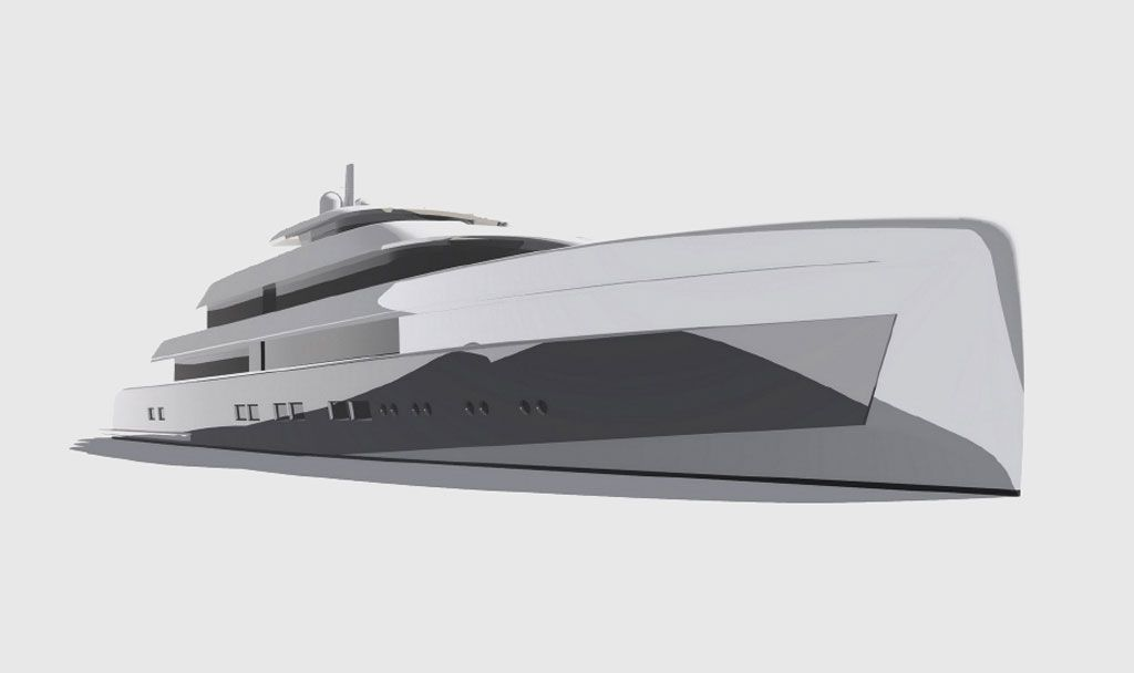Luxury Super Yacht Builders - Icon VGD Horizontal view.