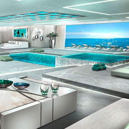 ICON Yachts concept yacht CGI.