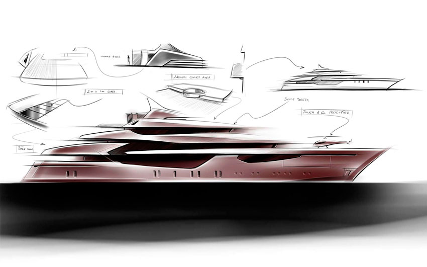 Luxury Super Yacht- Icon 240 Ft.