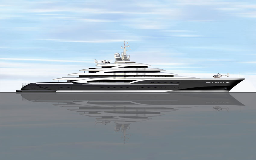 Super Yacht Design- Icon 475 Ft