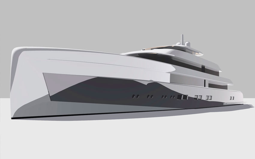 Super Yacht Design- Icon 235 Ft.