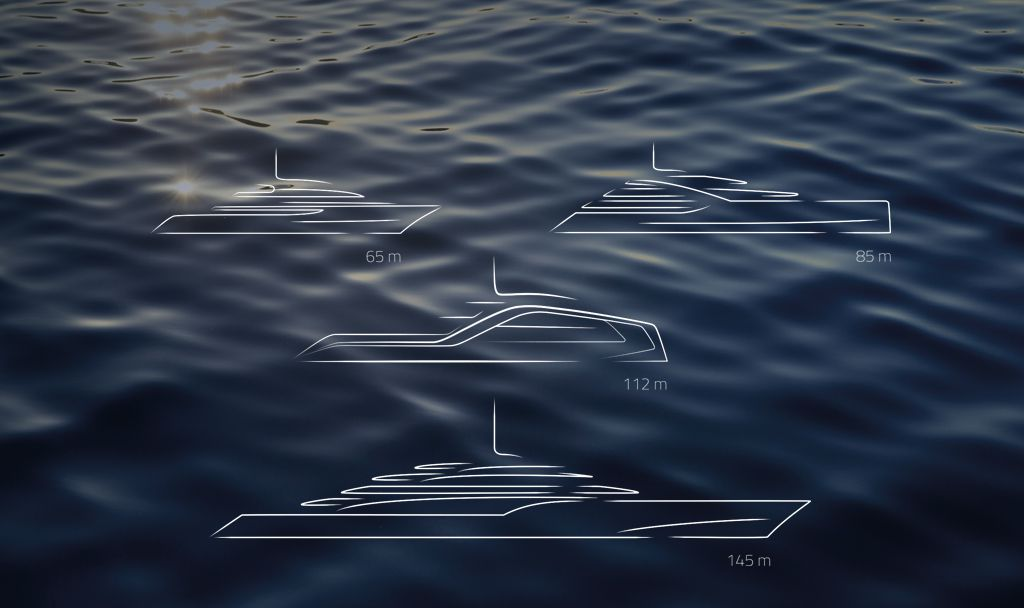 Super Yacht Design- Icon Vison Line.
