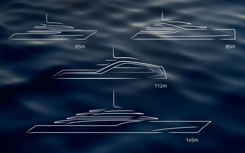 Super Yacht Design- Icon Vison Line.