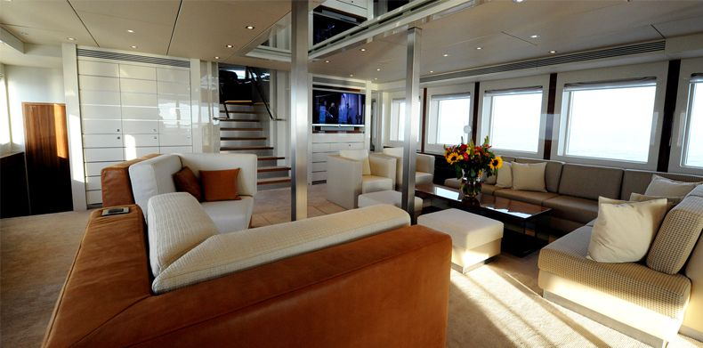 Main saloon for Basmalina II - Basmalina, Luxury Super Yachts .