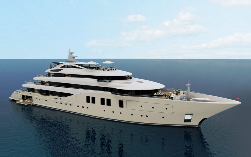 New Build Luxury Super Yachts- ICON 250