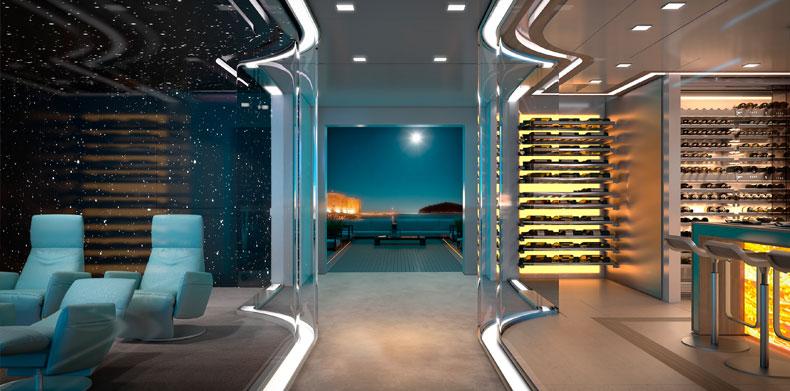 ICON280, Luxury Super Yachts - cinema.