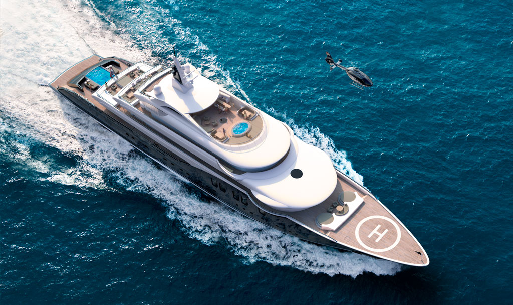 M/Y Icon280 built by ICON Yachts.
