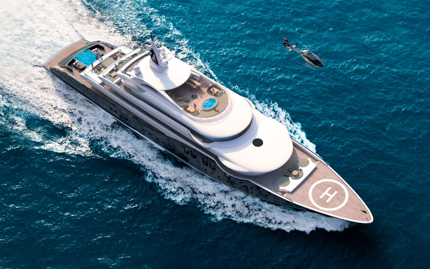 New Build Super Yachts- ICON280