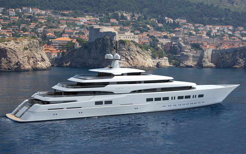New Build Luxury Super Yachts-  ICON 370