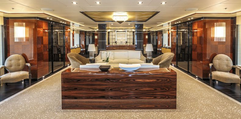 New Build,Party Girl (ex Meridian), Luxury-Super Yachts Interior View 01