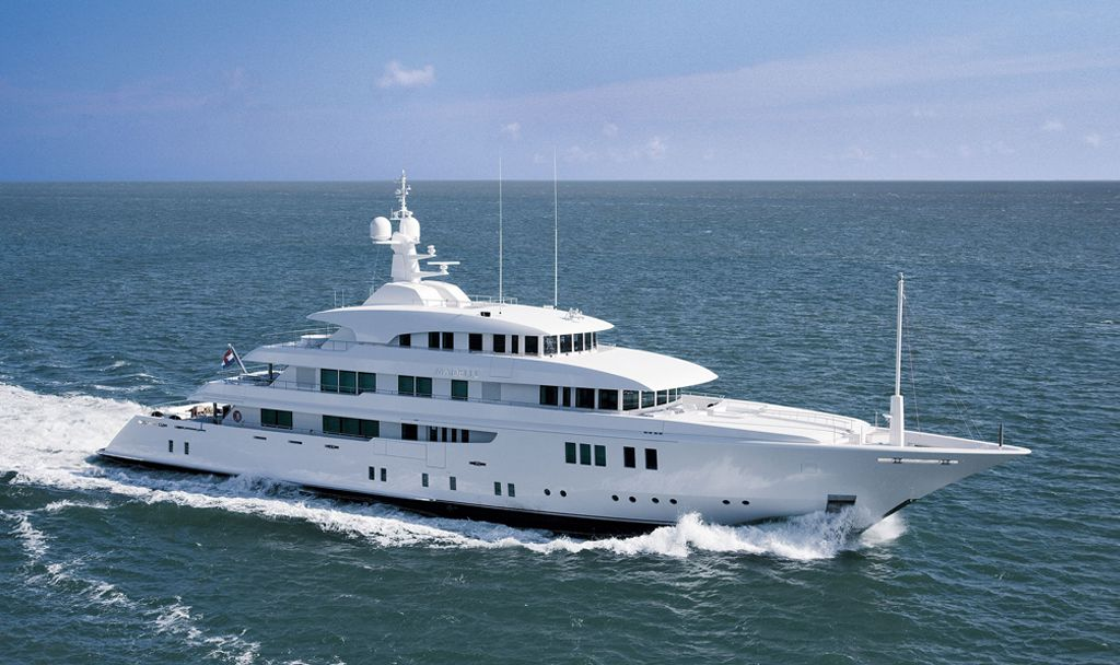 M/Y Party Girl (ex Meridian) built by ICON Yachts.