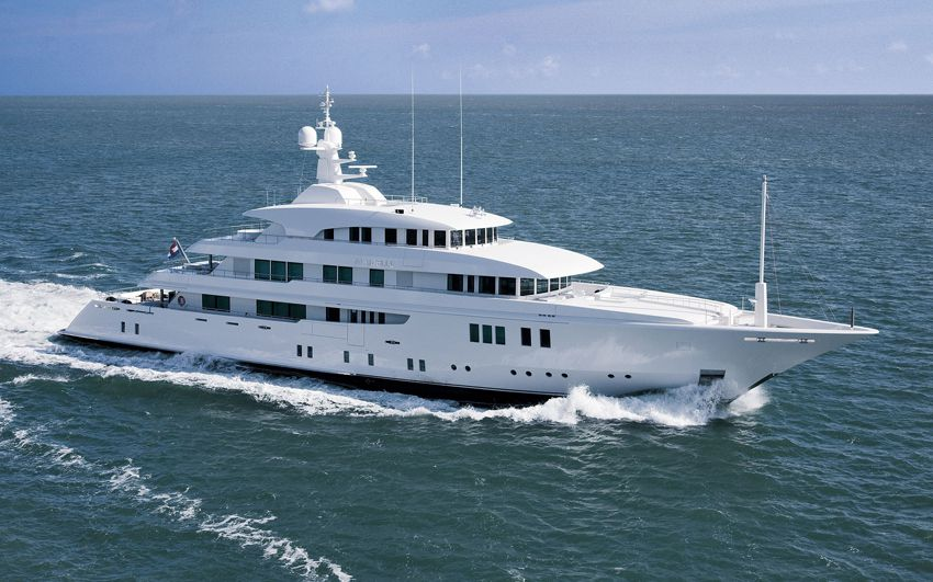 New Build Luxury Super Yachts- Party Girl (ex Meridian)