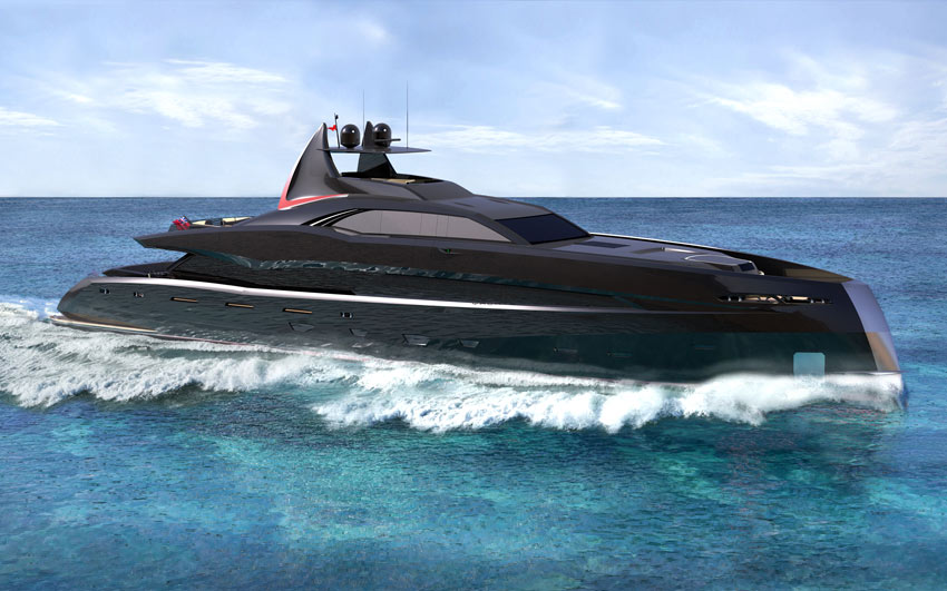 New Build Luxury Super Yachts-  The Gotham Project