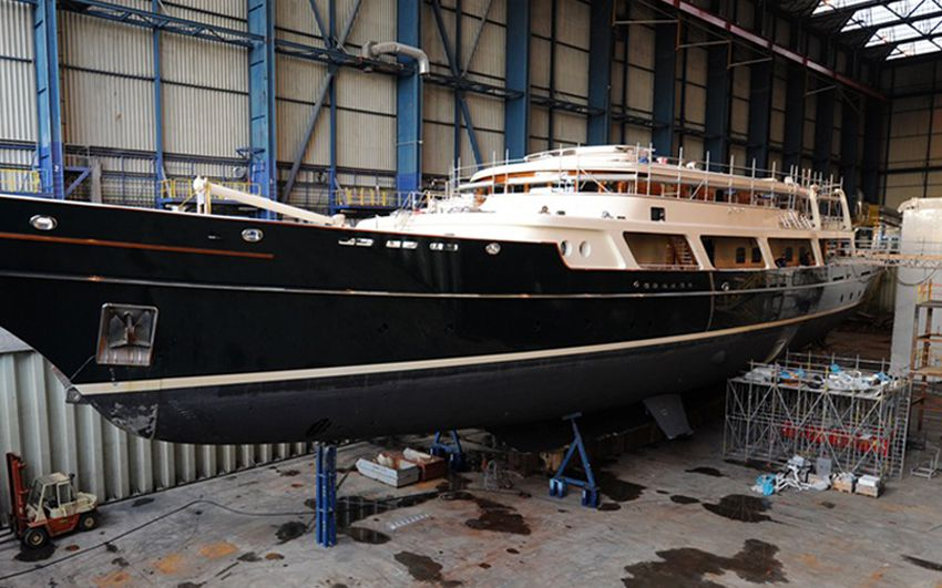 Yacht Refit- Project EOS