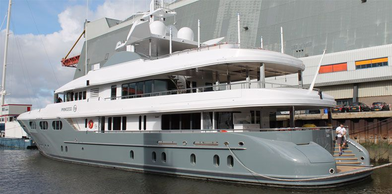 Yacht Refit- Project Princess Too,  Luxury Yacht Builders-01