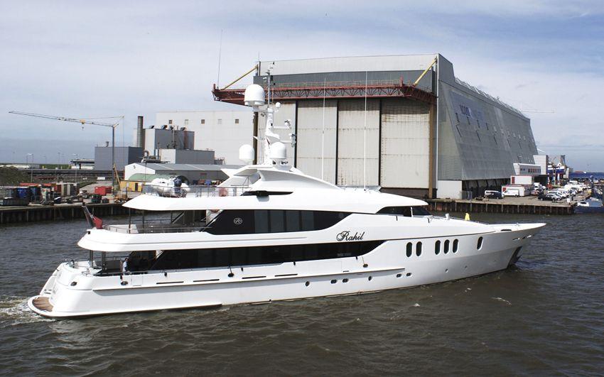 Yacht Refit- Project Rahil
