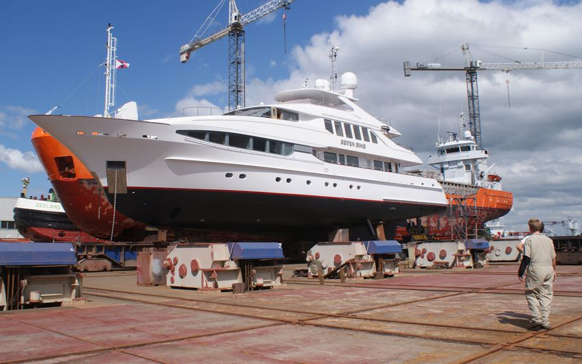 Yachts Repair- Project Seven Sins