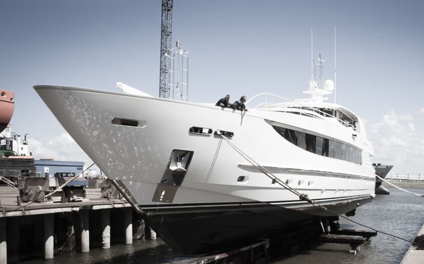 Yacht Refit- Project Basmalina-ii