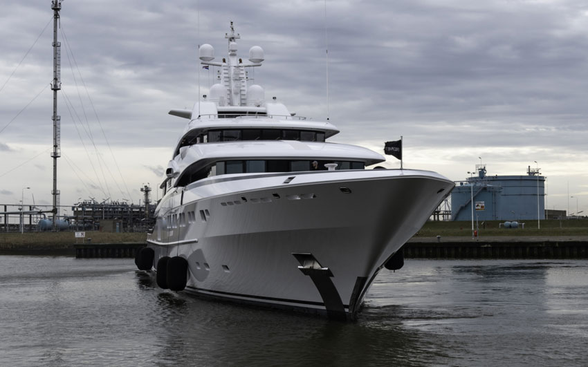 Yacht Refit- Project confidential
