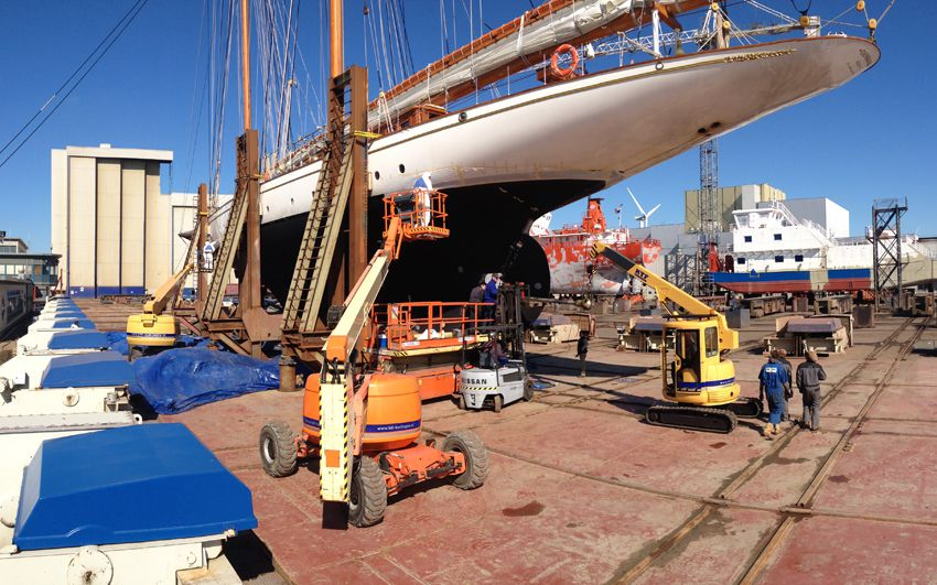 Yacht Interior Refit- Project Germania Nova