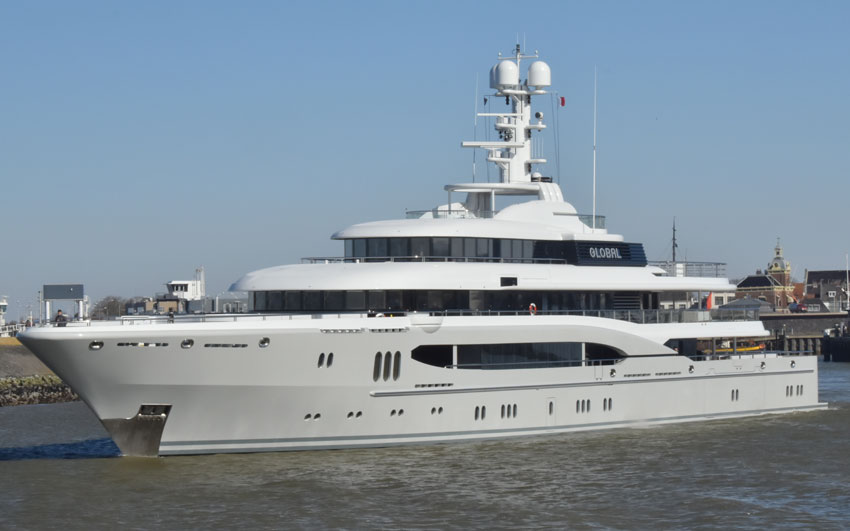 Yacht Refit- Project global