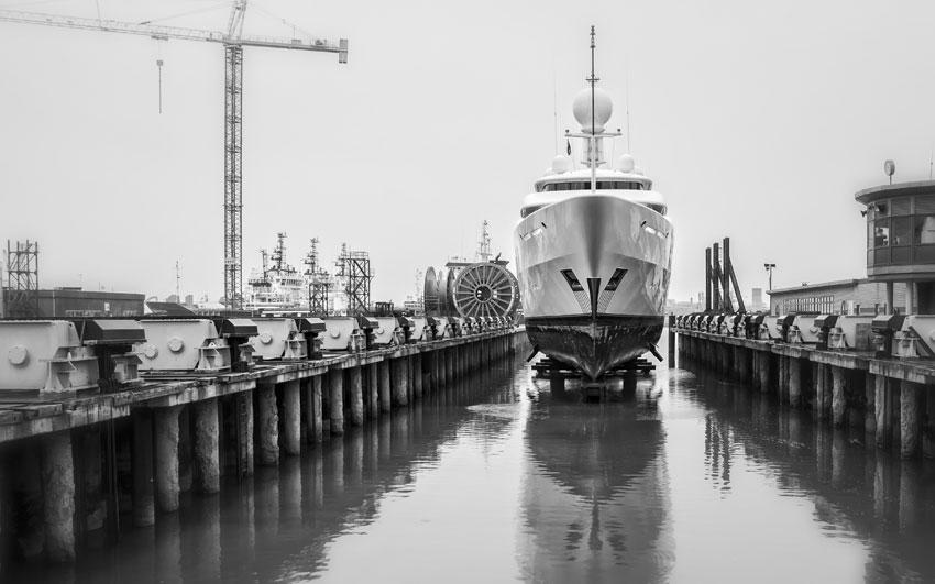 Yacht Refit- Project ilona