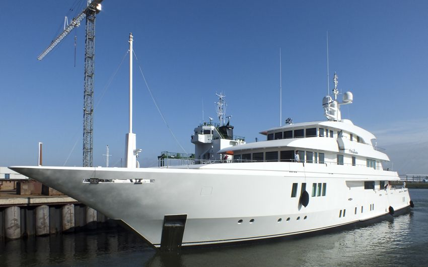 Yacht Remodeling- Project Meridian