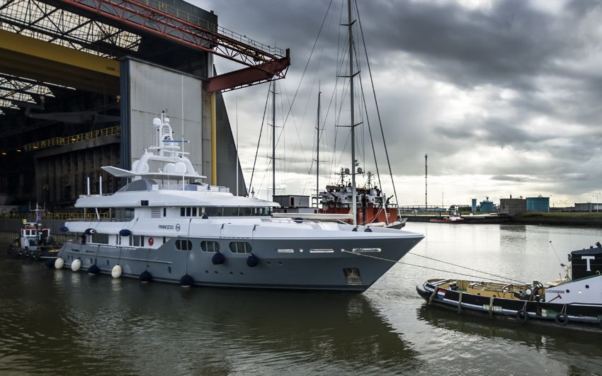 Yacht Refit- Project Princess Too