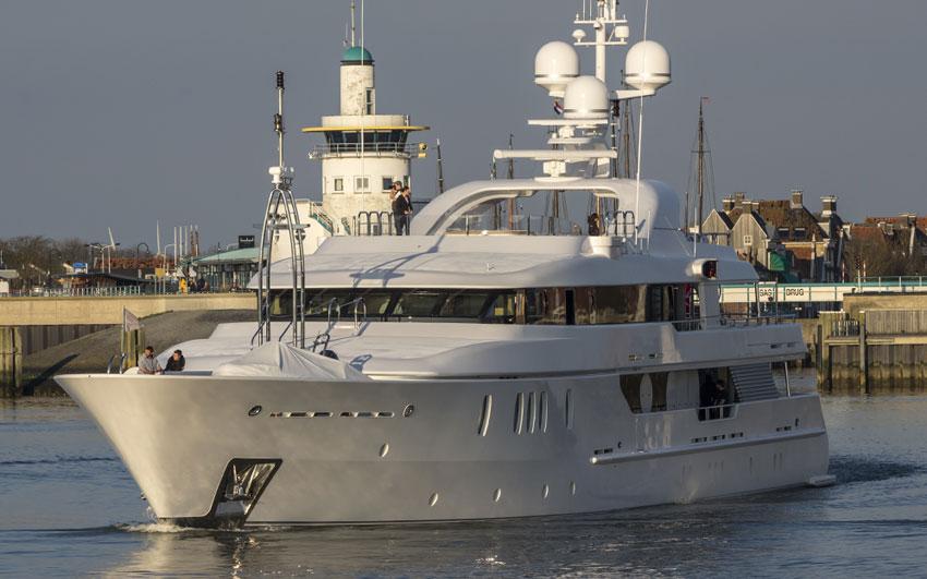 Yacht Refit- Project seahorse