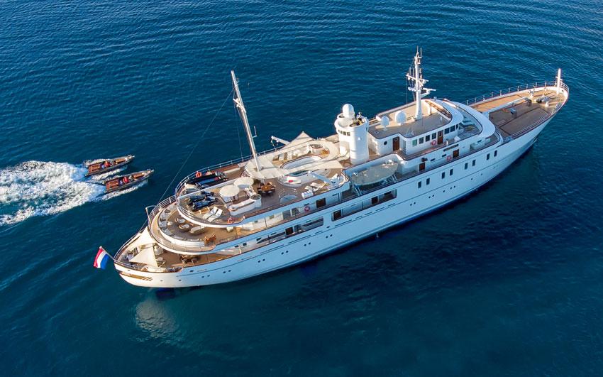 Yacht Refit- Project sherakahn