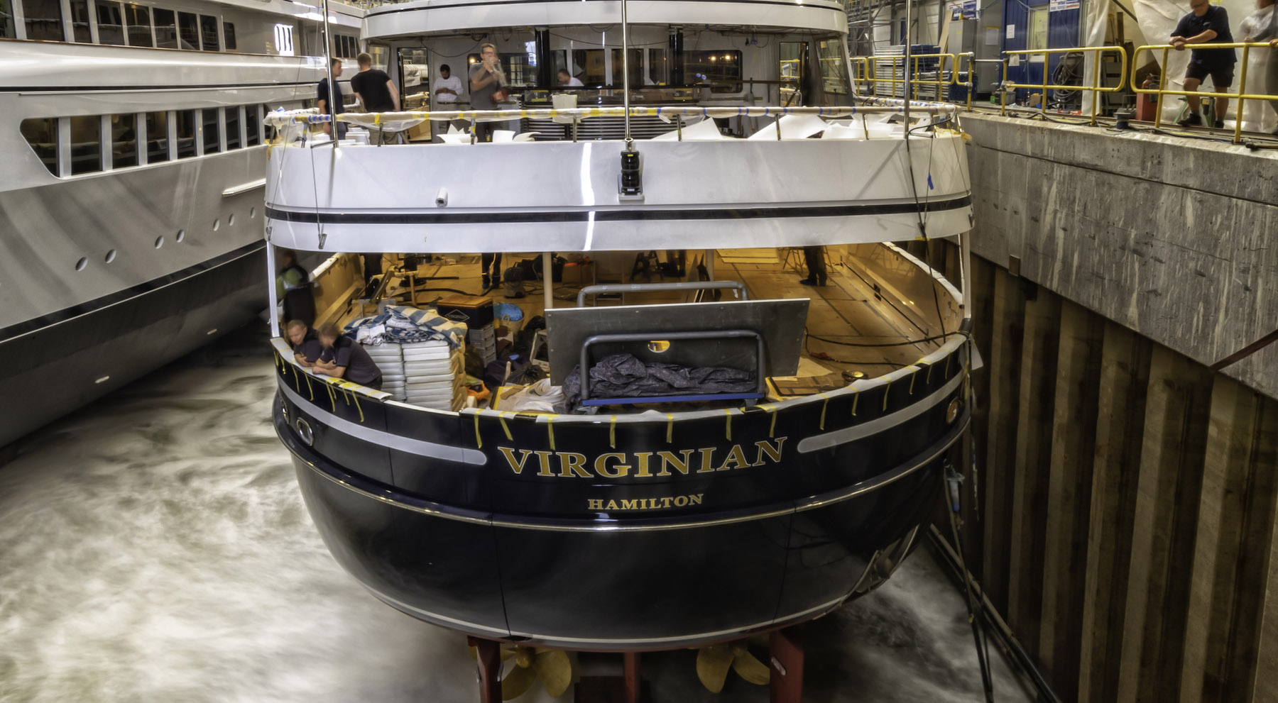 Yacht Refit - Project Virginian, Luxury Yacht Builders-5