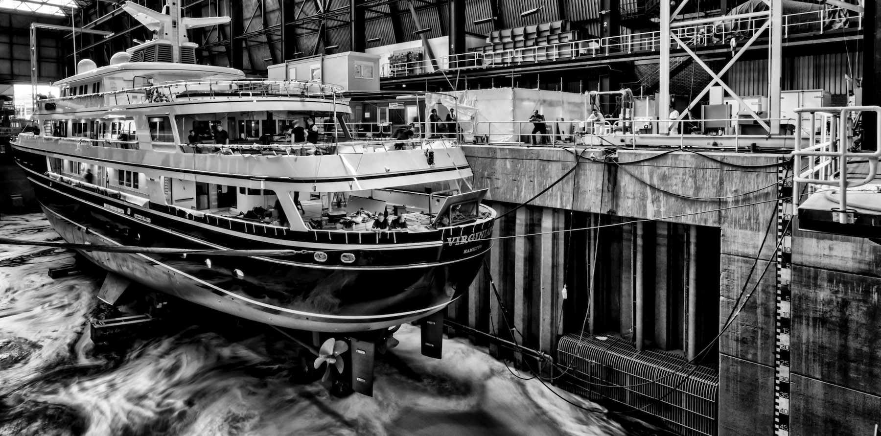 Yacht Refit - Project Virginian, Luxury Yacht Builders-6