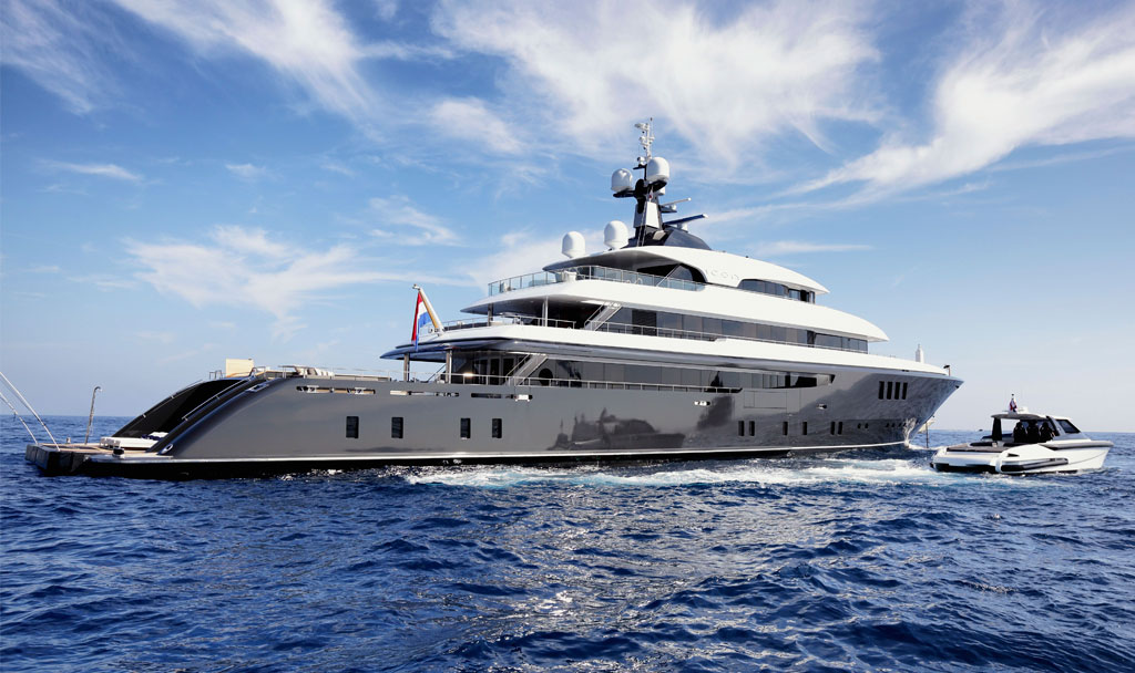 Superyacht new build and refit of M/Y Icon by ICON Yachts.